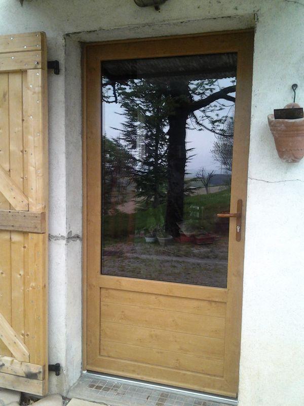 PVC faux bois chêne irlandais