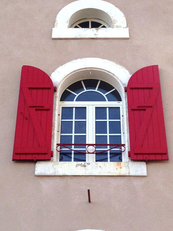 Fenêtre alu cintrée