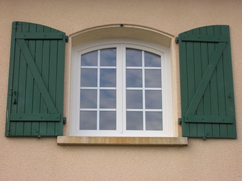 Fenêtre PVC cintré